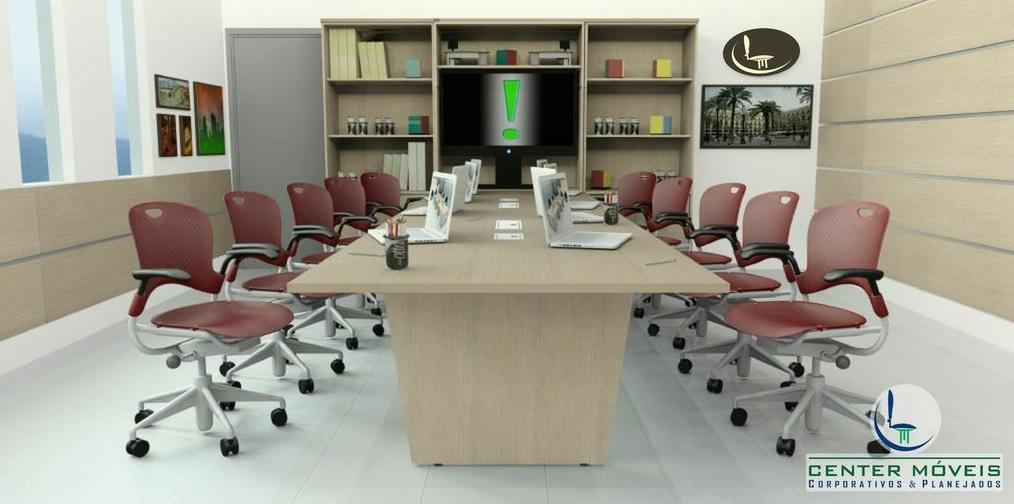 Mesas de Reuniões Linha Wood